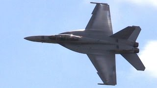 F/A-18 Super Hornet - Full Demo At Homestead - Balls To The Wall!