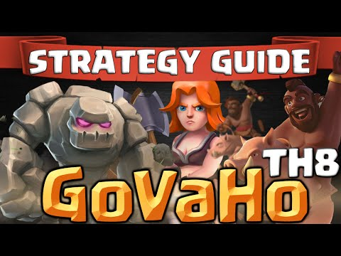 Clash of Clans | How To GoVaHo - TH8 Attack Strategy Guide