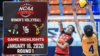 JRU vs. SSC-R - January 16, 2020 | Game Highlights | NCAA 95 WV