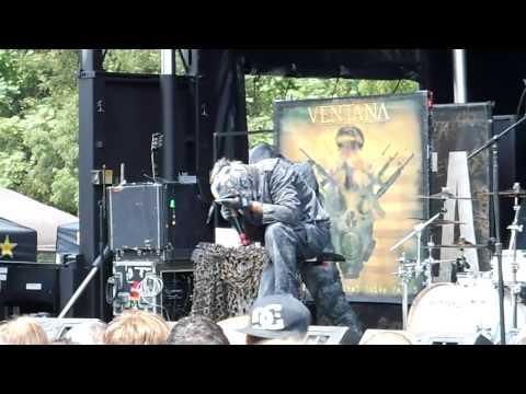 Ventana - Coming Apart - Mayhem Fest 2012 - Pittsburgh, PA