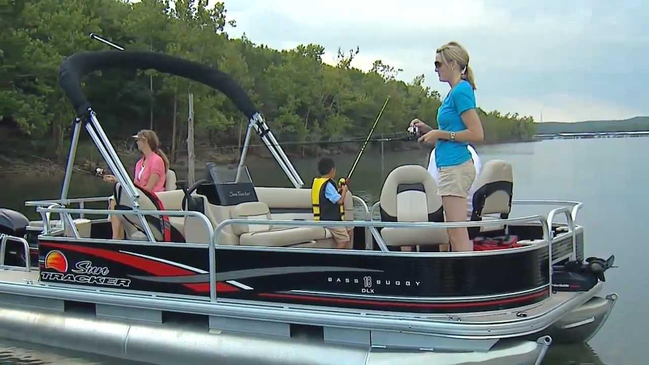 Sun Tracker Boats 2012 Bass Buggy 18 Dlx Youtube