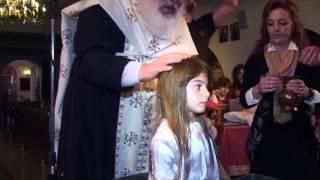 Η Βάπτιση μου 2.11.2014 Βικτωρία