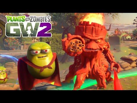 Plants vs. Zombies: Garden Warfare 2 All Bosses Battle (PVZGW2 Live Stream)