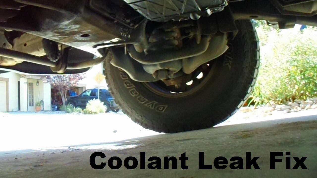 small resolution of f150 coolant leak fix