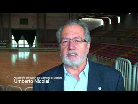 Il saluto dell'Assessore allo Sport del Comune di Vicenza, Umberto Nicolai.