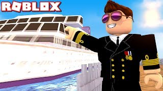 BUILDING THE NEW BOAT! -Roblox Cruise Ship Tycoon #3 Danish with ComKean