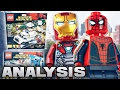 LEGO Marvel : SPIDER-MAN: HOMECOMING SETS - ANALYSIS