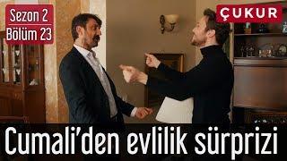 Çukur 2.Sezon 23.Bölüm - Cumali'den Evlilik Sürprizi