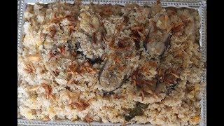 ইলিশ বিরিয়ানি রেসিপি ॥বৈশাখী রেসিপি ॥ llish Biryani Recipe ॥Mukti's Cooking World