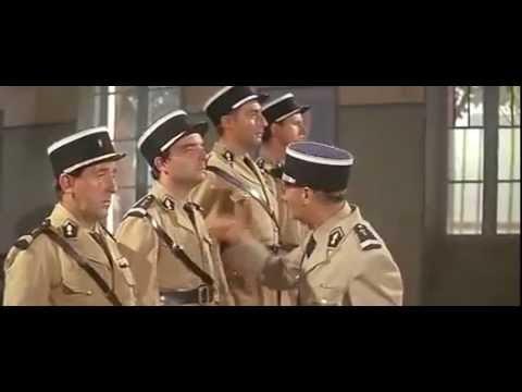 Scène culte Louis de Funès : Le Gendarme à Saint Tropez[1964] : les nudistes