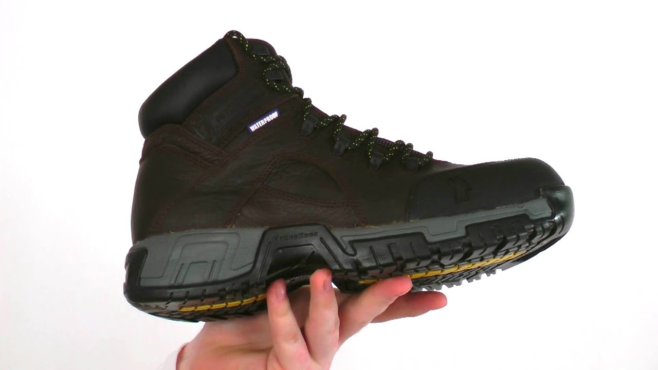 123da96c3a7973 Michelin HydroEdge Waterproof Work Boots Style  - XHY662 - YouTube