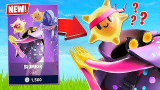 WEIRDEST Fortnite Skin EVER! New SLUMBER Skin! (Fortnite Battle Royale)