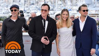 Leonardo DiCaprio, Brad Pitt, Robbie And Tarantino Talk 'Once Upon A Time In Hollywood'   TODAY