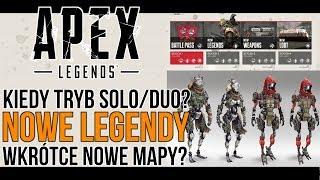 NOWE LEGENDY w Apex Legends? | Tryb DUO/SOLO | Nowe MAPY