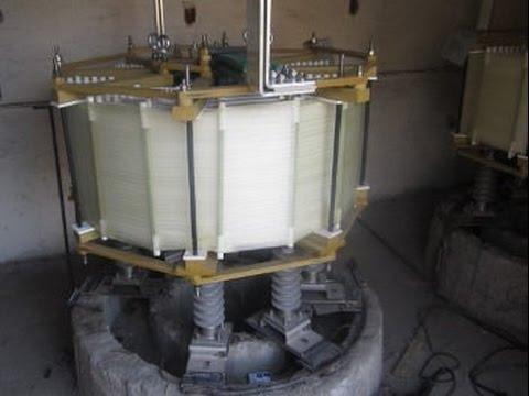Испытание сухих токоограничивающих реакторов РТСТГ-10