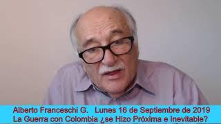 📺 Alberto Franceschi 🔴En Vivo en redes sociales 16/9/2019