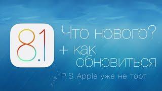 Обзор iOS 8.1 - Что нового? + как установить