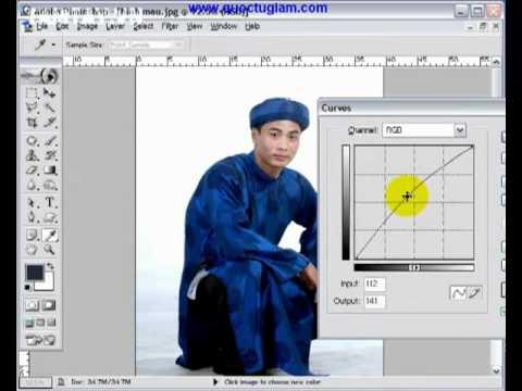 Bộ video hướng dẫn sử dụng Photoshop   Tiếng Việt dễ hiểu - Hnmovies.com 5