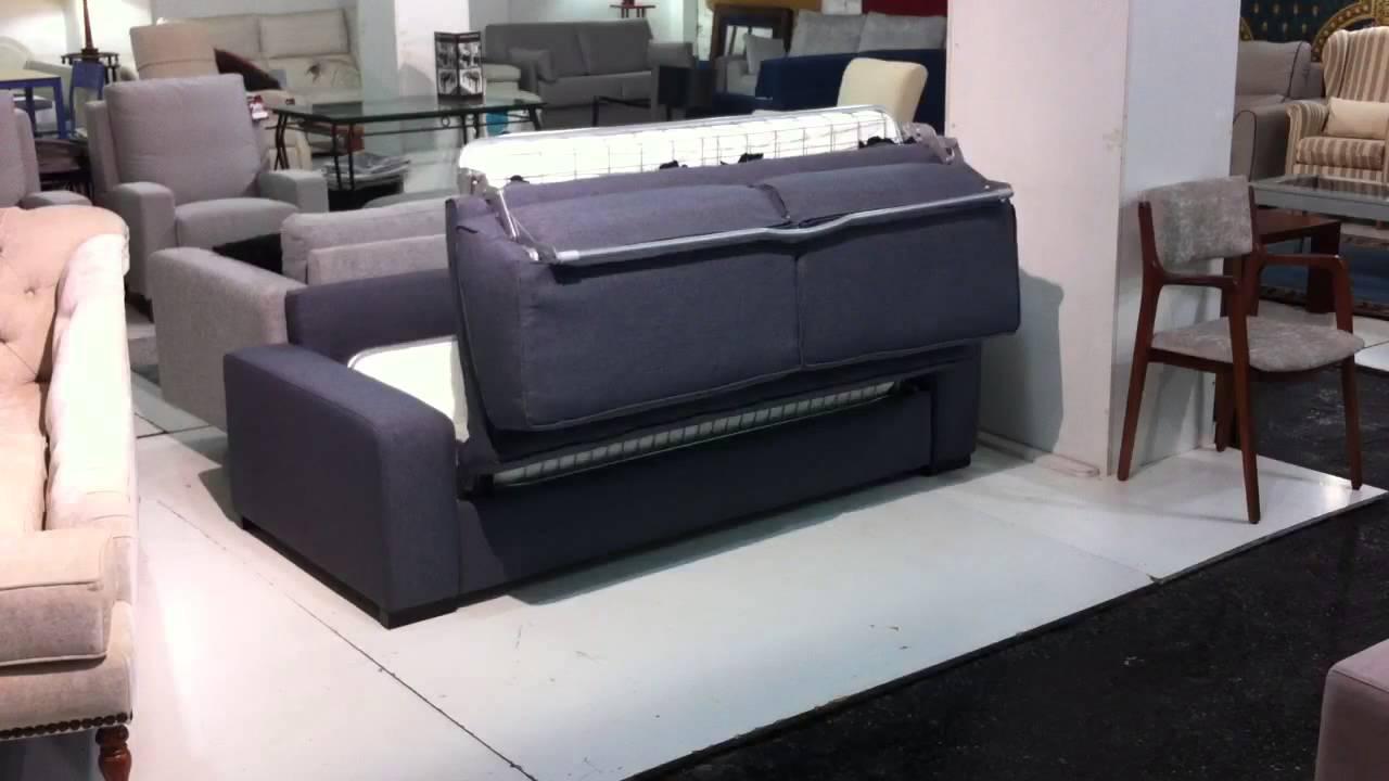 Sof cama mod ereaga youtube - Sofas cama galea ...