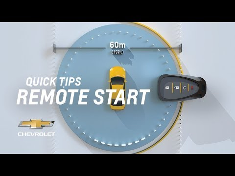 Quick Tips: How To Remote Start My Vehicle | Chevrolet - YouTube