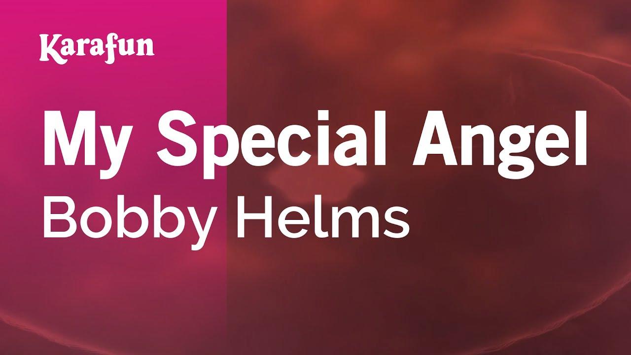 Karaoke My Special Angel Bobby Helms Youtube