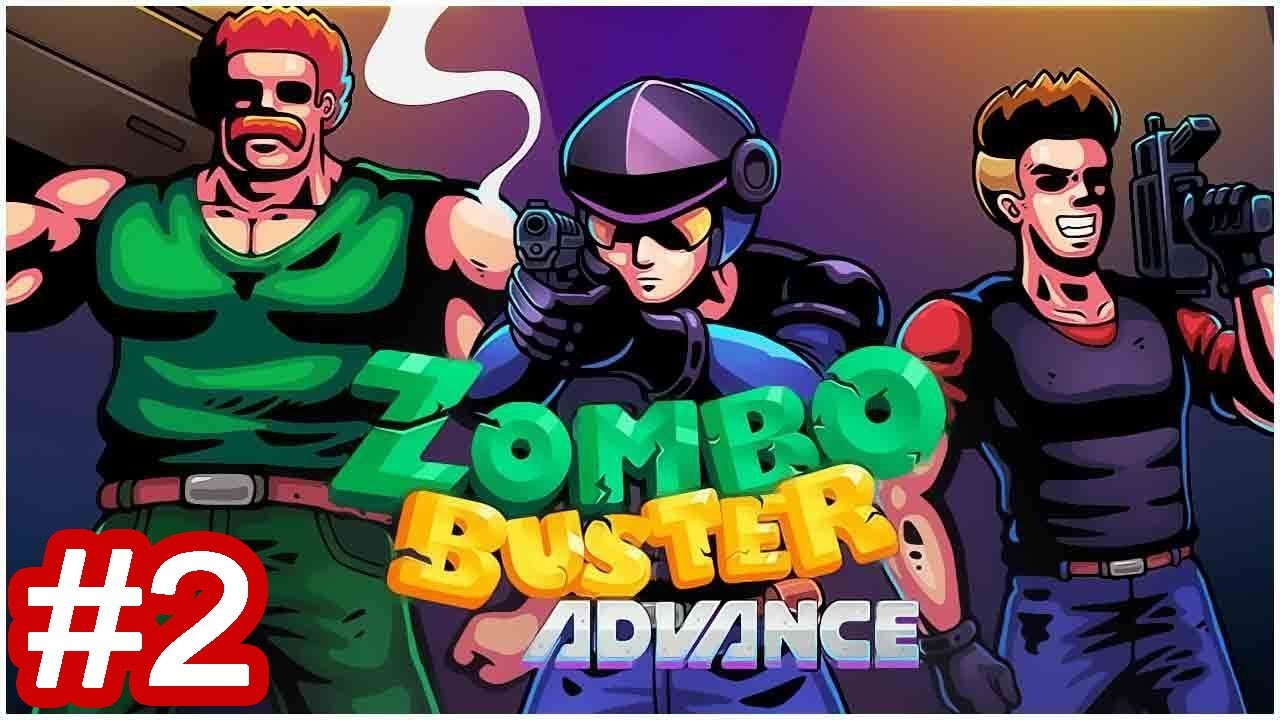 Zombo Buster Advance Gameplay Part 2 | Stage 6+7