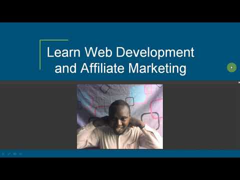 7 days Web Development and Affiliate Marketing Guide Introduction