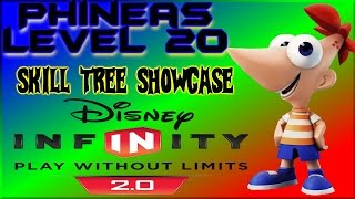 Phineas Level 20 Skill Tree Disney Infinity 2.0 Lets Play Showcase - By DisneyToyCollector