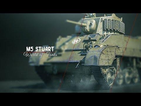 ШОК ПУШКА M5 Stuart - Муразор старался (нет)