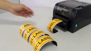 Veja como é rápido imprimir etiquetas sinalizadoras com a TL3