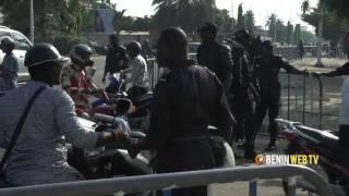 Affaire Ajavon : le tribunal de Cotonou fortement militarisé ce vendredi matin thumbnail