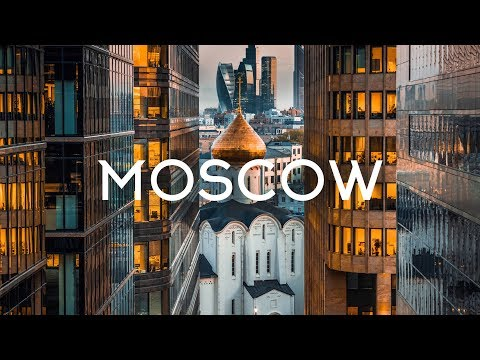 Moscow Russia Aerial view 5K Timelab.pro // Москва Россия Аэросъемка