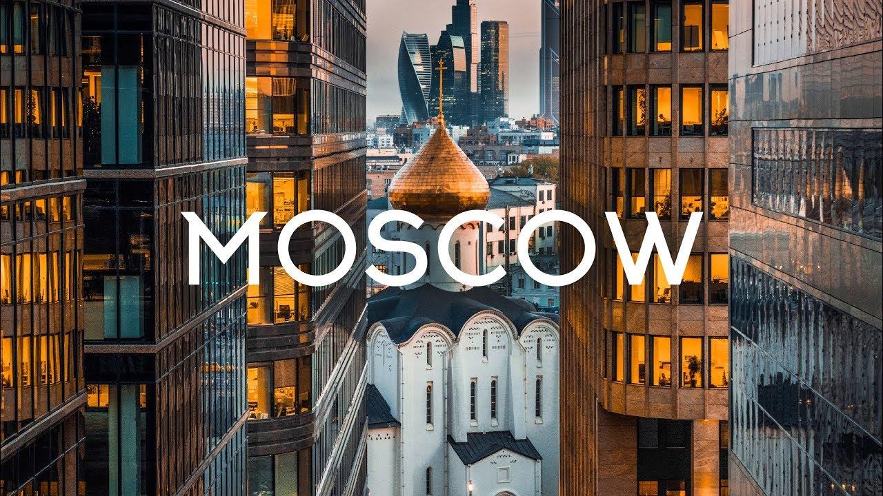 Moscow Russia Aerial Drone 5K Timelab.pro // Москва Россия Аэросъемка