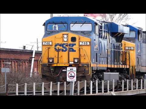 I'm Back!! Non-Stop Railfanning Action in Cincinnati, Ohio, Featuring Cincy Railfan Productions!