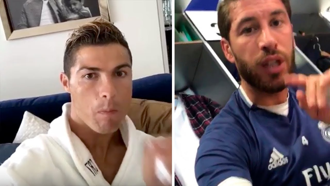 Download FAMOUS PLAYERS REACTION TO CRISTIANO RONALDO LEAVING REAL MADRID!