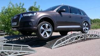 Внедорожный тест драйв Audi Q7