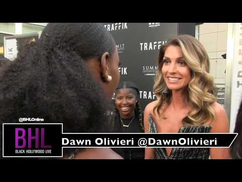 Dawn Olivieri talks pulling a hail mary to bring her character to life at the Traffik Premiere
