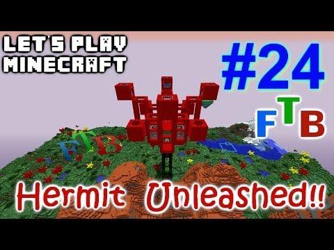 Minecraft FTB Hermitcraft Unleashed Ep. 24 - Skelly Farm !!!