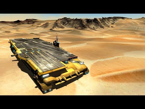 BIGGEST Desert Aircraft Carrier Battle EVER | Homeworld: Deserts of Kharak Gameplay