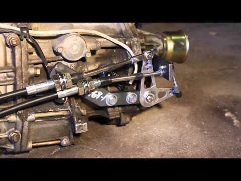 Subaru Cable Shift (pre-production prototype)