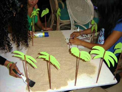 Maqueta playa ecologica youtube for Sillas para una maqueta