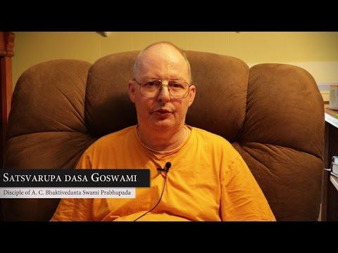 Satsvarupa dasa Goswami adresses devotess of Zakarpattia tour