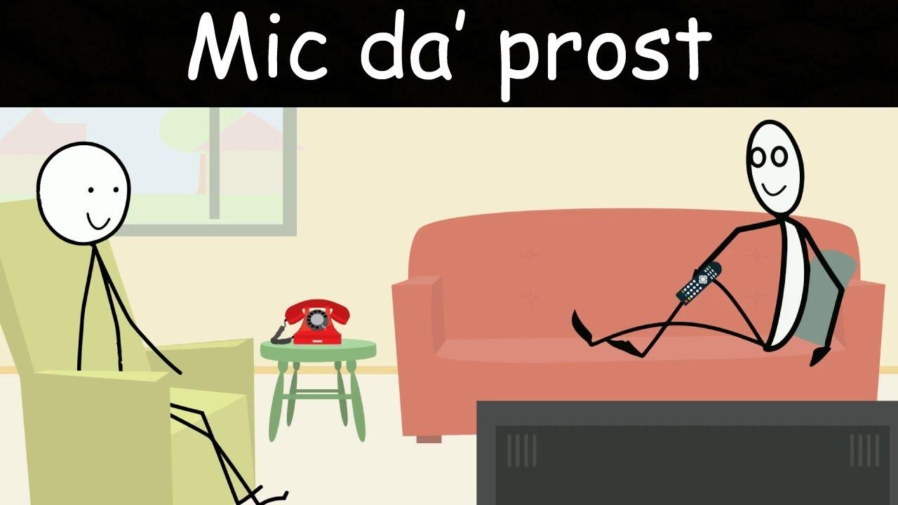 SINGURI ACASĂ: Mic da' Prost