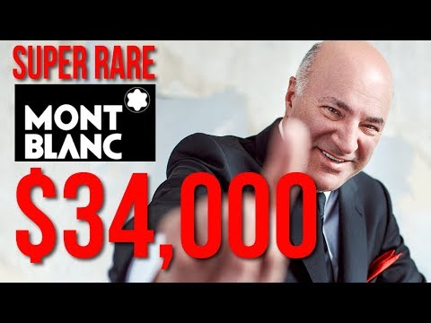 SUPER RARE $34,000 Mont Blanc Will DOUBLE in Value | Kevin O'Leary |