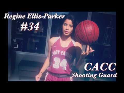 Regine Ellis-Parker #34 || Coastal Alabama WBB