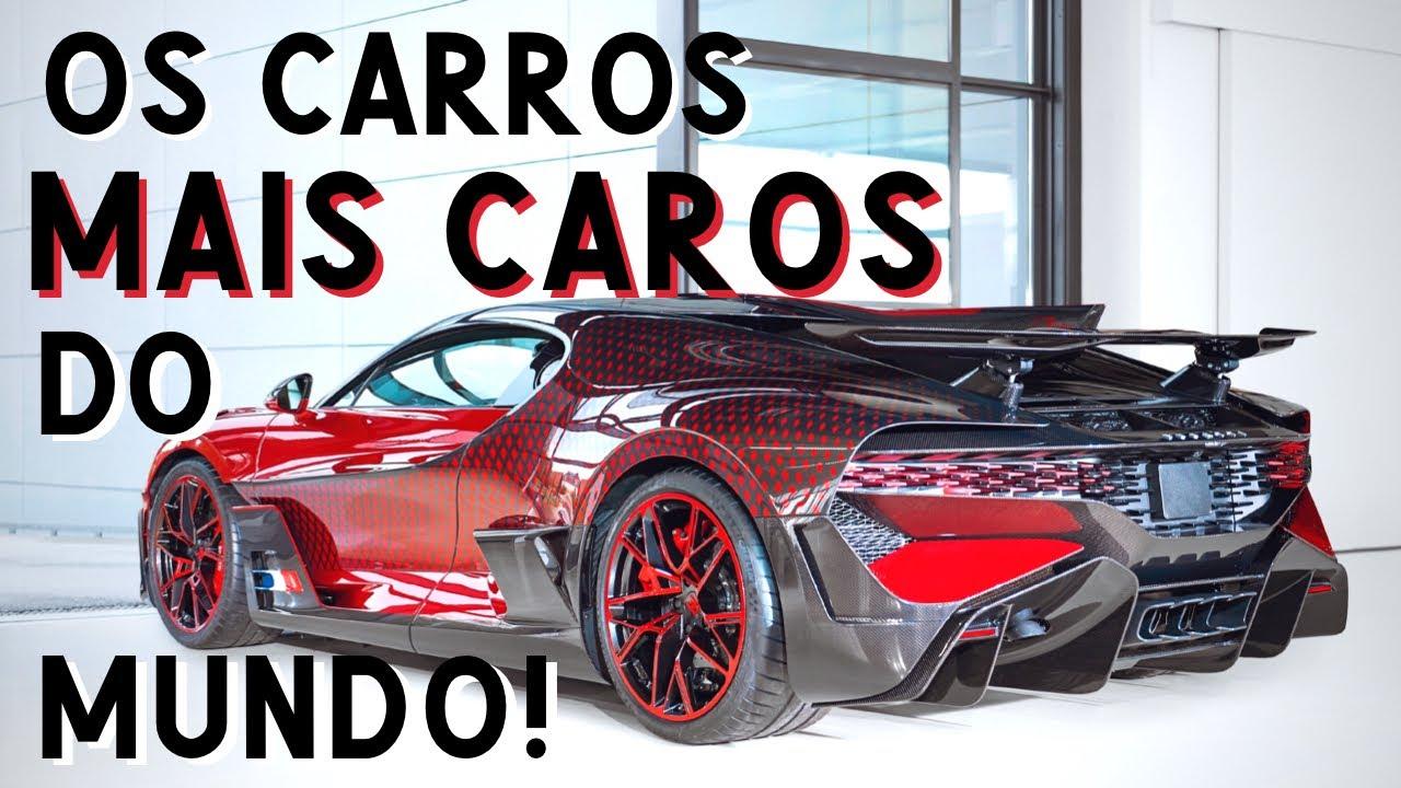 TOP 20: os carros NOVOS MAIS CAROS do mundo (NO MOMENTO!)