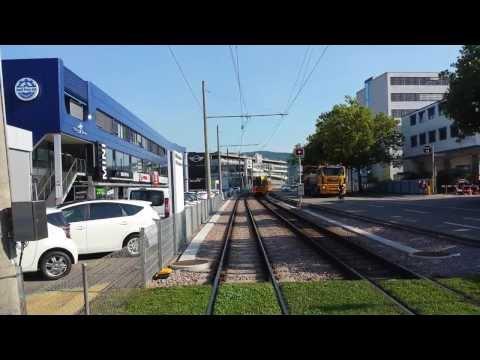 BLT-Tramlinie 10 [Dornach - Basel Bahnhof SBB]