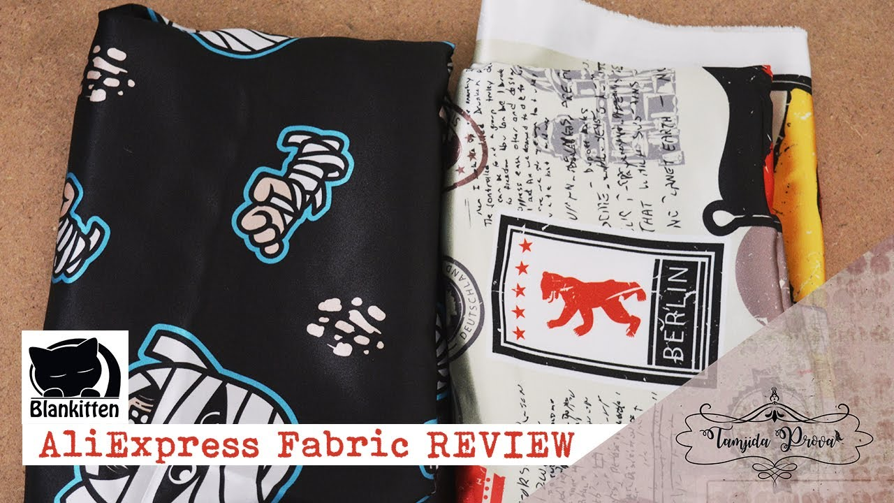 AliExpress Fabric REVIEW || Collab with Blankitten Official Store ♡