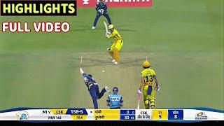 Chennai super kings vs Mumbai Indians 1st IPL 2020 Full Match Highlights • MI VS CSK FULL HIGHLIGHTS