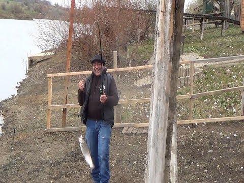 Мастер он и в Африке мастер! Рыбалка в Красноселке Одесской области